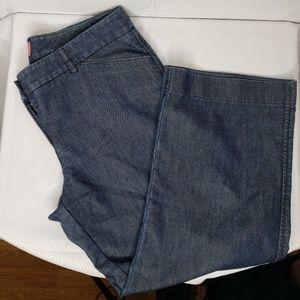 The Limited Drew Jean Size 8 Capri denim. Like new